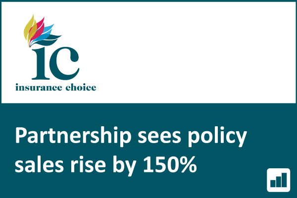 Insurance Choice partnership sees sales rise 150%