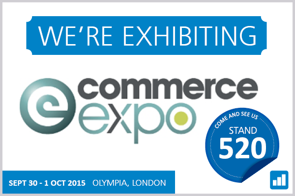 Ecommerce expo 2015 - We're attending!