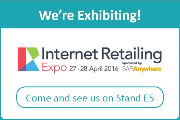 Internet Retailing Expo - We're Exhibiting!