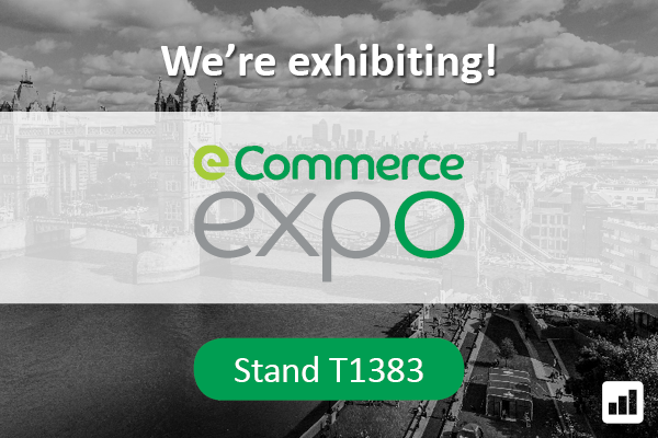 We're exhibiting at eCommerce Expo 2016! Visit us on stand T1383